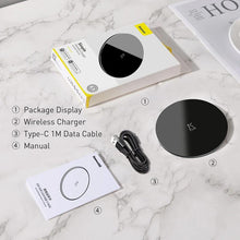 Load image into Gallery viewer, 2020 New Minimalist 15W Qi Wireless Charger
