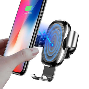 Quick Charge Fast Wireless Charging Car Holder Stand
