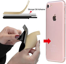 Load image into Gallery viewer, Silicone Card Pouch Stick on Phone Compatible with Almost Every Phone (3 Pieces)