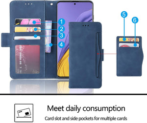 Luxury Multi-Card Slots Wallet Flip Cover For Samsung S20 FE