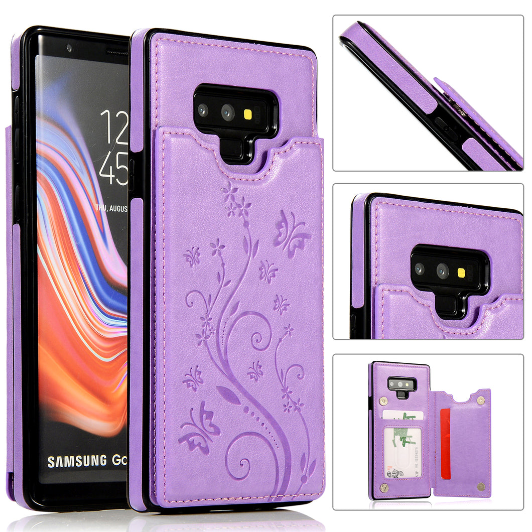 2020 New Luxury Wallet Phone Case For Samsung Note 9
