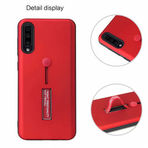 2020 Luxury Finger Loop Strap Hide Stand Cover For Samsung