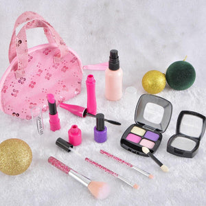 【SUPER GIFT】Simulated Girls Princess Pink Makeup Beauty Toy Set