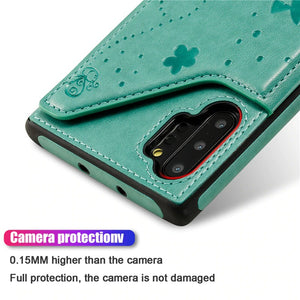 New Luxury 3D Printed Leather Wallet Cover Case For Samsung