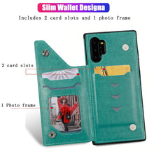 Load image into Gallery viewer, New Luxury 3D Printed Leather Wallet Cover Case For Samsung
