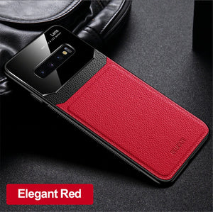 2020 Luxury Leather Mirror Case For Samsung