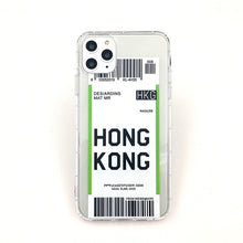 Load image into Gallery viewer, Trendy Boarding Pass Phone Case For iPhone