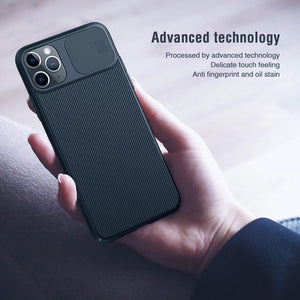 Luxury  Slide Camera Slim Stylish Protective case for iPhone