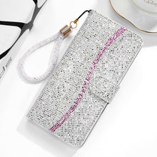 Load image into Gallery viewer, 2021 New Bling Glitter Wallet Flip Case For Samsung S8+