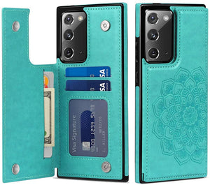 2021 New Style Luxury Wallet Cover For Samsung Note 20