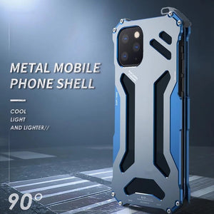 Luxury Doom Armor Shockproof Metal Aluminum For iPhone
