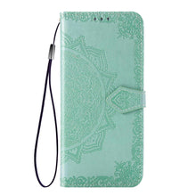 Load image into Gallery viewer, 2021 Luxury Embossed Mandala Leather Wallet Flip Case for HUAWEI Mate20 Lite