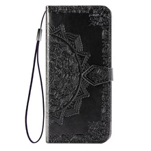 Load image into Gallery viewer, 2020 Luxury Embossed Mandala Leather Wallet Flip Case for HUAWEI Mate20 Lite