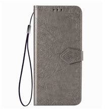 Load image into Gallery viewer, 2020 Luxury Embossed Mandala Leather Wallet Flip Case for Samsung S20 Plus