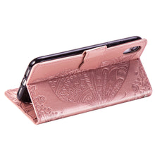 Load image into Gallery viewer, New Luxury Embossed Butterfly Leather Wallet Flip Case for IPHONE XR