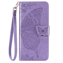 Load image into Gallery viewer, 2020 Luxury Embossed Butterfly Leather Wallet Flip Case For Huawei Y6(2019)