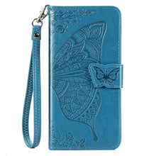 Load image into Gallery viewer, 2021 Luxury Embossed Butterfly Leather Wallet Flip Case For Huawei Huawei Psmart 2019