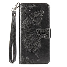 Load image into Gallery viewer, 2020 Luxury Embossed Butterfly Leather Wallet Flip Case For Huawei P20 Lite