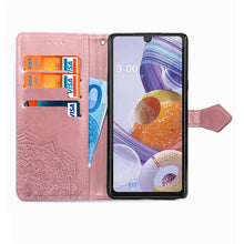 Load image into Gallery viewer, 2021 Luxury Embossed Mandala Leather Wallet Flip Case for Samsung S9 Plus