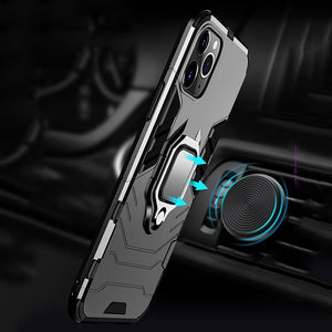 Luxury Magnetic Finger Ring Case For iphone