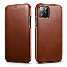 Load image into Gallery viewer, Luxury Genuine Leather Cases for iPhone