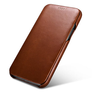 Luxury Genuine Leather Cases for iPhone