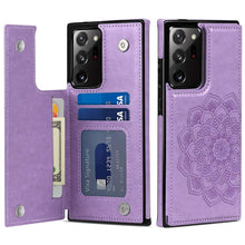 Load image into Gallery viewer, 2021 New 3D Embossed Mandala Wallet Cover For Samsung