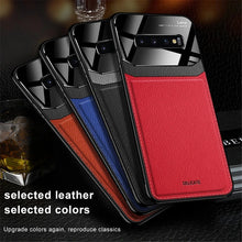 Load image into Gallery viewer, 2020 Luxury Leather Mirror Case For Samsung