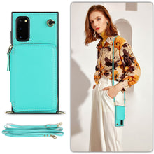 Load image into Gallery viewer, Multifunction Zipper Wallet-Style Phone Case For Samsung S20
