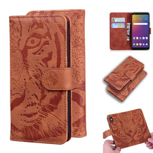 Load image into Gallery viewer, 2020 Luxury Embossed Tiger Leather Wallet Flip Case for SAMSUNG A Series