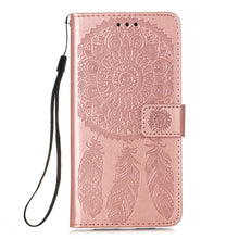 Load image into Gallery viewer, Dream Catcher Printing Flip Leather Case For Samsung