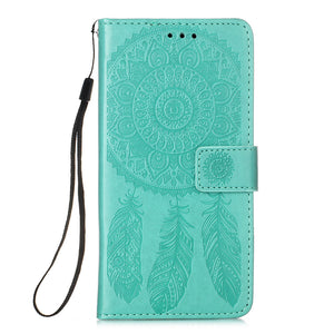 Dream Catcher Printing Flip Leather Case For Samsung Galaxy A51