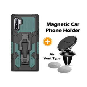 2021 Phone Warrior Multi-function Bracket Belt Clip Case For Samsung Note 10+