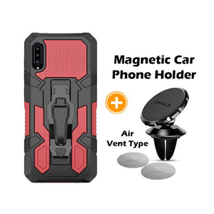 2021 Phone Warrior Multi-function Bracket Belt Clip Case For Samsung A50/A50S