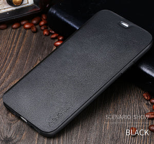 Ultra-thin Stand Flip Phone Case For iPhone