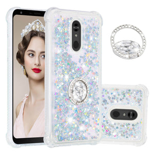 2020 Luxury Glitter Diamond Ring Case for LG