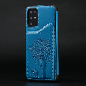 Phone Bags - 2020  Luxury 3D Tree Wallet Case For SAMSUNG S Series