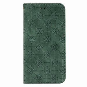 Lucky Flower Embossed Magnetic Flip Wallet Phone Case For Samsung A21