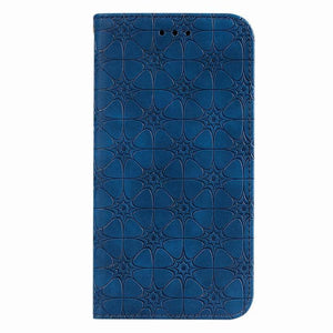 Lucky Flower Embossed Magnetic Flip Wallet Phone Case For Samsung Note10 Plus