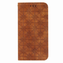 Load image into Gallery viewer, Lucky Flower Embossed Magnetic Flip Wallet Phone Case For Samsung A21