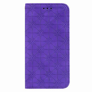 Lucky Flower Embossed Magnetic Flip Wallet Phone Case For Samsung S20 Ultra