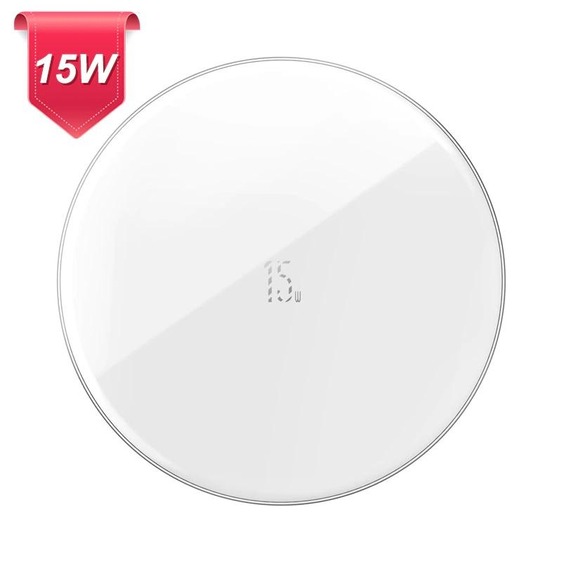 2020 New Minimalist 15W Qi Wireless Charger