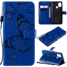 Load image into Gallery viewer, 2021 Upgraded 3D Embossed Butterfly Wallet Phone Case For Samsung A21S