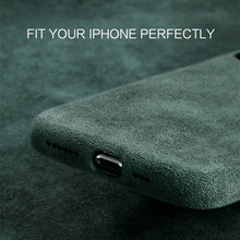 Load image into Gallery viewer, Luxury Suede Leather Phone Back Cover