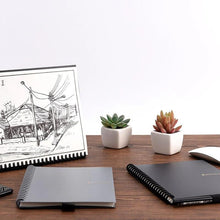Load image into Gallery viewer, ELFINBOOK™ 2.0 SMART REUSABLE NOTEBOOK