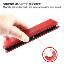 Load image into Gallery viewer, Retro Leather Magnetic Flip Wallet Case For iPhone 12 Mini
