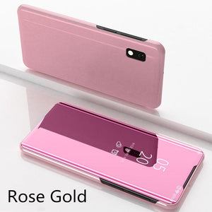 【PhoneCase Gift】Luxury Mirror Flip Smart Case For Samsung