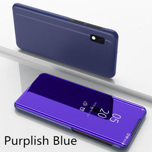 【PhoneCase Gift】Mirror Flip Smart Case For Samsung
