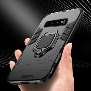 2021 Ultra-thin 4 in 1 Special Armor Case For Samsung Devices
