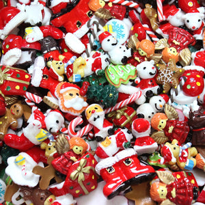 DIY Christmas Lucky Resin Accessories Craft Sets